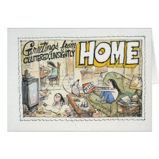 Grüße vom Zuhause Karte