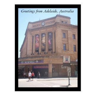 Grüße von Adelaide-Postkarte Postkarte