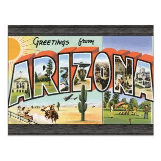 Grüße von Arizona, Vintag Postkarte