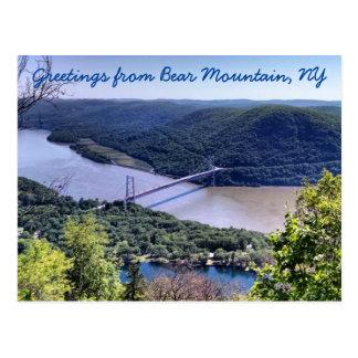 Grüße von Bear Mountain Postkarte