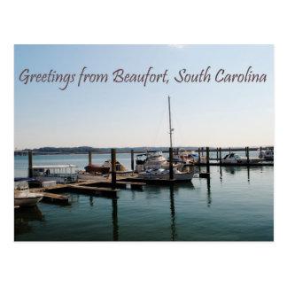 Grüße von Beaufort, Sc Postkarte