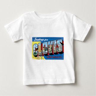 Grüße von Clovis, New Mexiko! Baby T-shirt