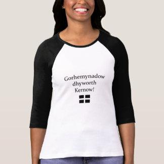 Grüße von Cornwall in der kornischen Sprache T-Shirt