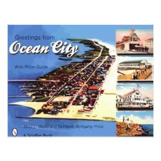 Grüße von der Ozean-Stadt, mit Preis-Führer, Vinta Vollfarbige Flyer