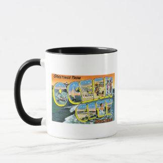 Grüße von der Ozean-Stadt, New-Jersey! Tasse