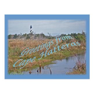 Grüße von Kap Hatteras OBX Postkarte