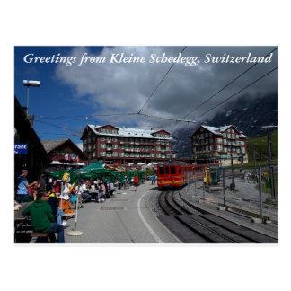 Grüße von Kleine Schedegg 1 Postkarte