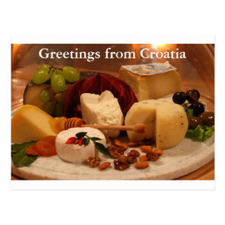 Grüße von Kroatien Postkarte