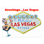 Grüße von Las Vegas Postkarte