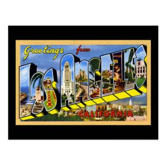 Grüße von Los Angeles Kalifornien Postkarte