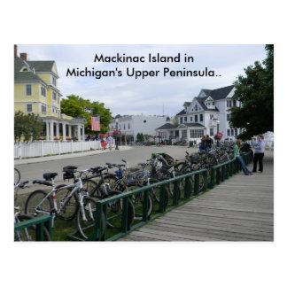 Grüße von Mackinac Insel. Postkarte