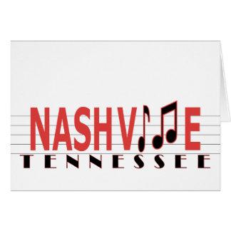 Grüße von Nashville Karte