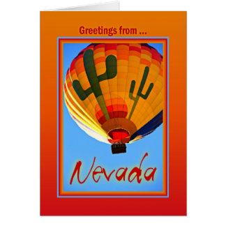 Grüße von Nevada Karte