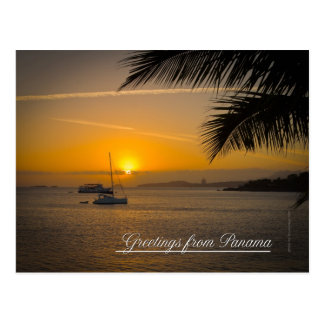 Grüße von Panama-Postkarte Postkarte