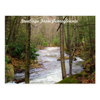 Grüße von Pennsylvania Postkarten
