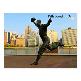Grüße von Pittsburgh, PA Postkarte