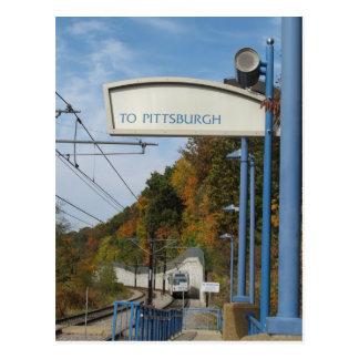Grüße von Pittsburgh Pennsylvania Postkarte