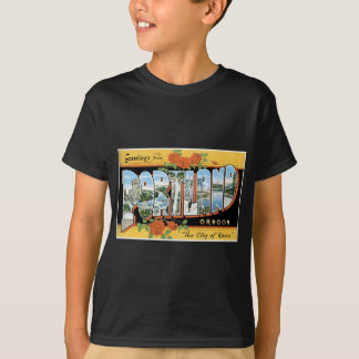 Grüße von Portland, Oregon! T-Shirt