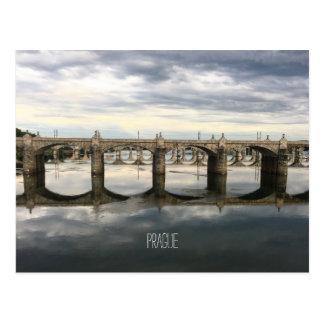 Grüße von Prag! Postkarte