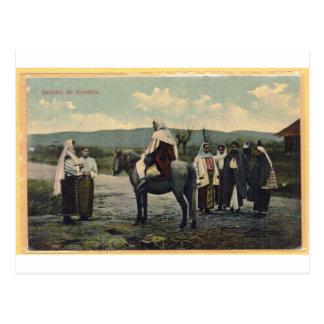 Grüße von Rumänien, Postkarte im Jahre 1910