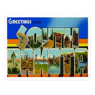 Grüße von South Dakota Postkarte