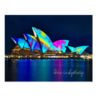 Grüße von Sydney Postkarte