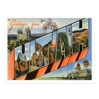 Grüße von Utah Postkarten