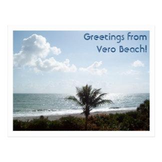 Grüße von Vero Beach! Postkarte