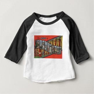 Grüße von Washington Baby T-shirt