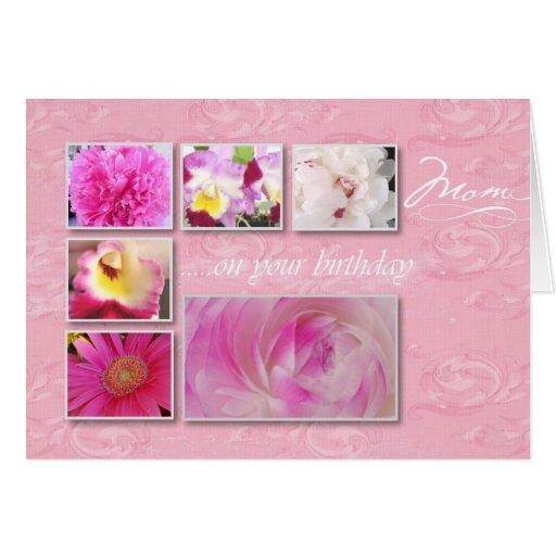 Grußkarte alles- Gute zum Geburtstagmamma