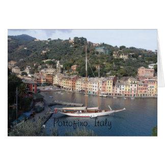 Grußkarte - Portofino, Italien