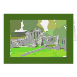 Grußkarten-Geschenk Zoll-Abtei Irland Karte