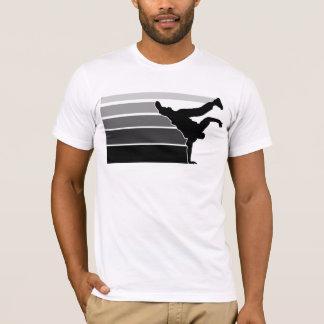 Gry Schwarzes BBOY Steigung T-Shirt