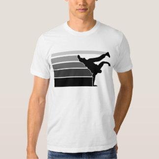 Gry Schwarzes BBOY Steigung Tshirt
