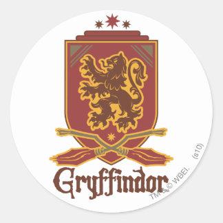 Gryffindor Quidditch Abzeichen Sticker