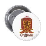 Gryffindor Quidditch Abzeichen Runder Button 5,7 Cm
