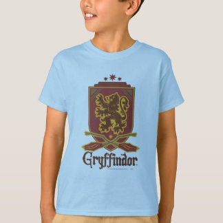 Gryffindor Quidditch Abzeichen T-Shirt