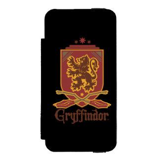Gryffindor Quidditch Abzeichen Incipio Watson™ iPhone 5 Geldbörsen Hülle