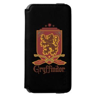 Gryffindor Quidditch Abzeichen Incipio Watson™ iPhone 6 Geldbörsen Hülle