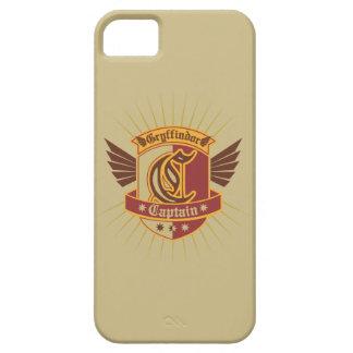 Gryffindor Quidditch Kapitän Emblem Barely There iPhone 5 Hülle