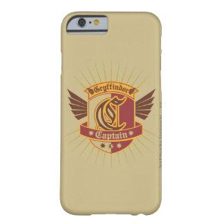 Gryffindor Quidditch Kapitän Emblem Barely There iPhone 6 Hülle