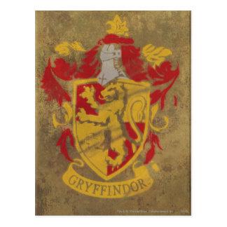 Gryffindor Wappen HPE6 Postkarte