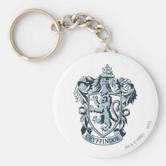Gryffindor Wappenblau Standard Runder Schlüsselanhänger