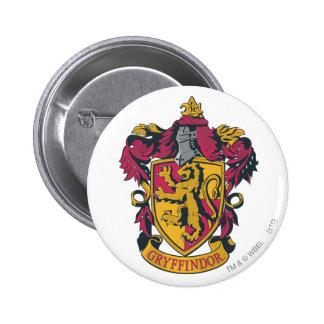 Gryffindor Wappenrot und -gold Runder Button 5,1 Cm