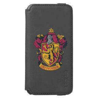 Gryffindor Wappenrot und -gold Incipio Watson™ iPhone 6 Geldbörsen Hülle