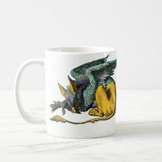 Gryphon - Blau: Kaffeetasse