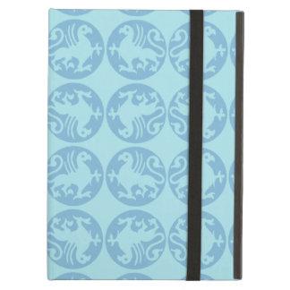 Gryphon Silhouette-Muster - hellblau