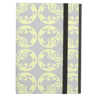 Gryphons Silhouette-Muster - hellgelb und grau