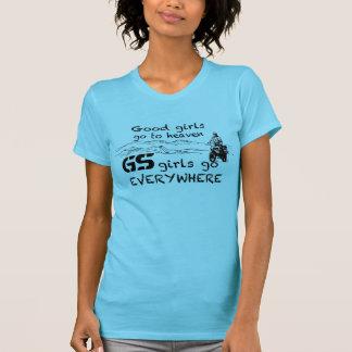 Gs-Mädchen gehen überall T Shirt