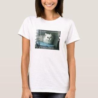 GSAL RETTET LEBEN Damen BabyDoll-T-Stück T-Shirt